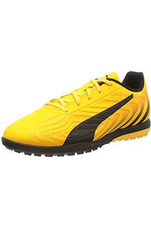 Puma Unisex-Kinder One 20.4 Tt Jr Botas de fútbol, (Ultra Yellow Black- Alert)