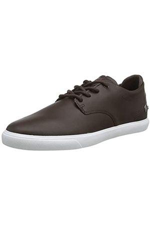 Lacoste Herren ESPARRE BL 1 CMA Sneaker, (Dark Brown/White)