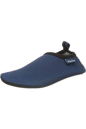 Playshoes Unisex-Kinder Badeslipper, Badeschuhe Uni Aqua Schuhe, (Marine)