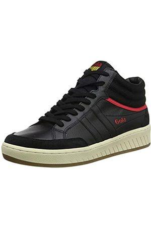 Gola Herren Championship High Hohe Sneaker, (Black/Red/Sun Br)