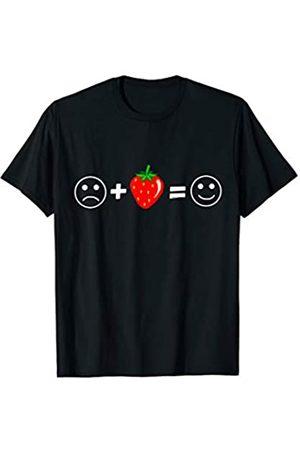 Köstliche Erdbeeren Erdbeer Vegan Strawberry Süße Erdbeere Leckere Sommer Obst Früchte Emotion T-Shirt