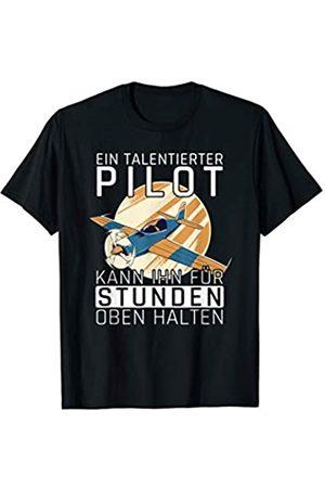 Modellbauer RC Modellbau Geschenke Modellbauer Flugzeug Pilot Kunstflug Modellflug Flugmodell T-Shirt