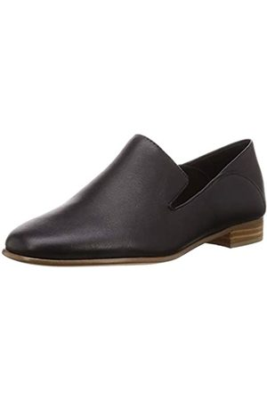 Clarks Damen Pure Viola Mokassin, (Black Leather)