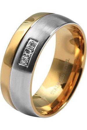 Akzent Damen-Ring Edelstahl Gr.52 (16.6) 013500052008