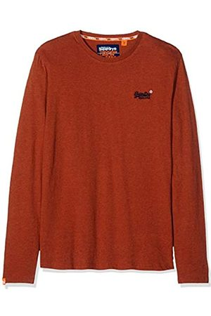 Superdry Herren Label Vintage Embroidery LS TOP Langarmshirt