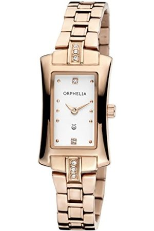 ORPHELIA Damen-Armbanduhr Cobra Analog Quarz Edelstahl