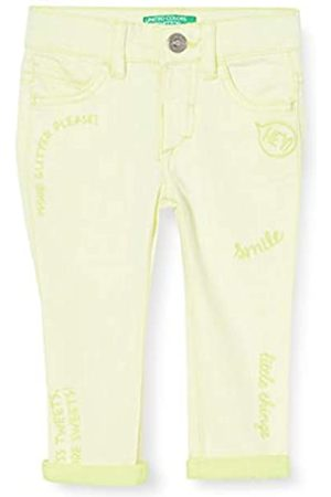Benetton Baby-Mädchen Jeans Hose