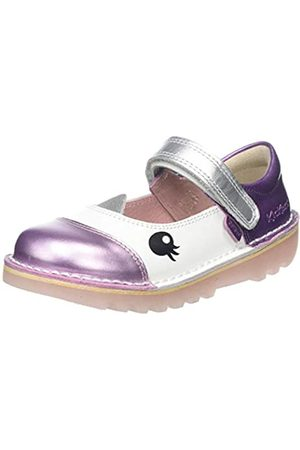 Kickers Baby Mädchen Kick Uni Mj Ballerinas, (White Whte)