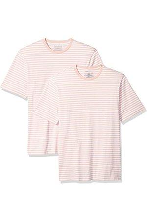 Amazon Locker sitzende Herren-T-Shirt mit Rundhalsausschnitt und kurzen Ärmeln, XXL