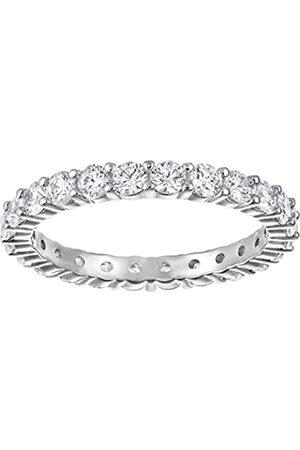 Swarovski Damen-Ring Platiniert Kristall transparent Rundschliff 5237742