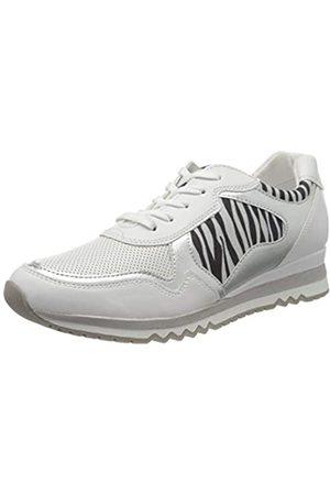 Marco Tozzi Damen 2-2-23753-34 Sneaker, Mehrfarbig (White Multi Core 163)