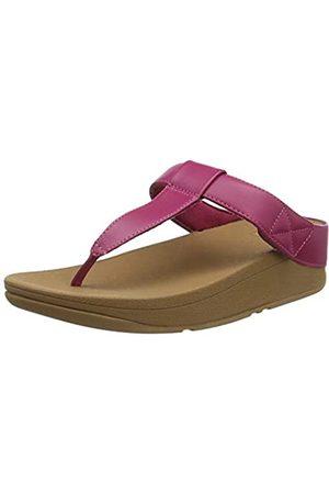 FitFlop Damen Mina Adjustable Toe Post - Leather Sandalen, (Ss20 Vivacious 058)
