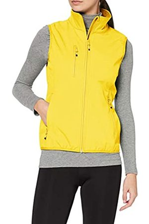 CLIQUE Damen Outdoor Weste Ladies Softshell Vest Gilet, Zitronengelb