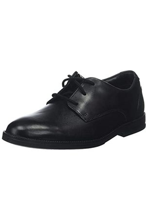 Clarks Jungen Rufus Edge Brogues, (Black Leather)