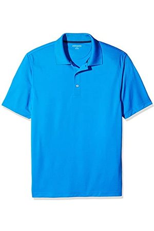 Amazon Regular-Fit Quick-Dry Golf Polo Shirt Poloshirt, Electric Blue