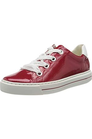 ARA Damen COURTYARD Sneaker, (Rosso, Weiss 11)