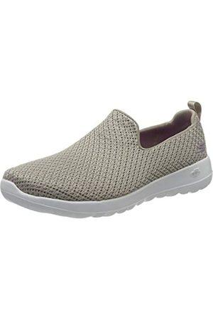Skechers Damen Go Walk Joy Sneaker, (Taupe Textile/Trim TPE)