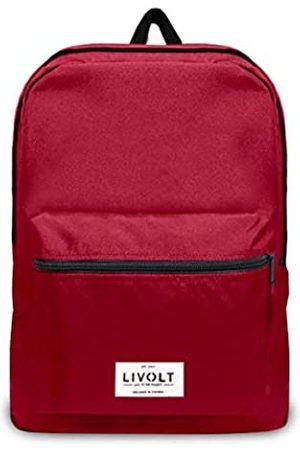 Livolt Unisex-Erwachsene Rio Red Rucksack
