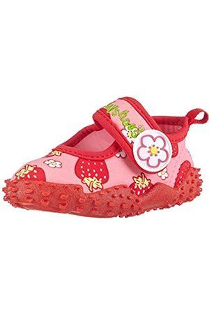Playshoes Badeschuhe Erdbeeren mit höchstem UV-Schutz nach Standard 801 174757, Mädchen Aqua Schuhe, Pink (original 900)
