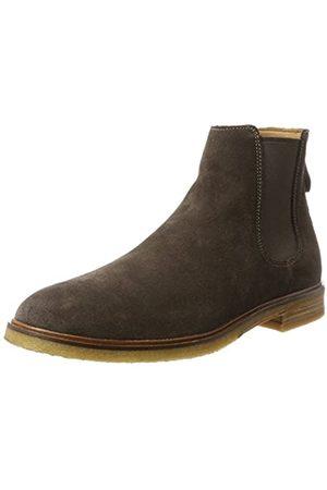 Clarks Herren Clarkdale Gobi Chelsea Boots, (Dark Brown Suede)