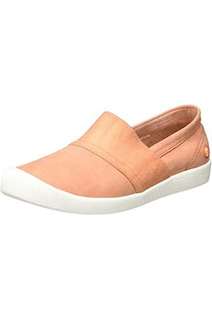 softinos Damen INO497SOF Slipper, Pink (Warm Pink 011)