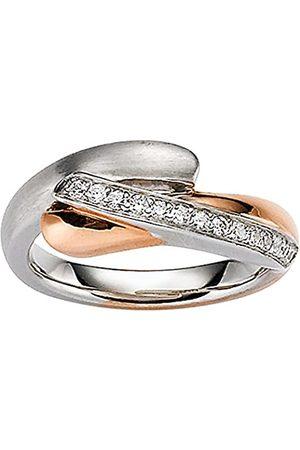 Viventy Damen-Ring Silber vergoldet rhodiniert Zirkonia weiß Gr. 56 (17.8) - 771611/56