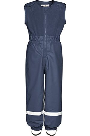 Playshoes Regenanzug für Kinder, Regen-Overall mit Fleece Latz, Wassersäule: 5000 mm