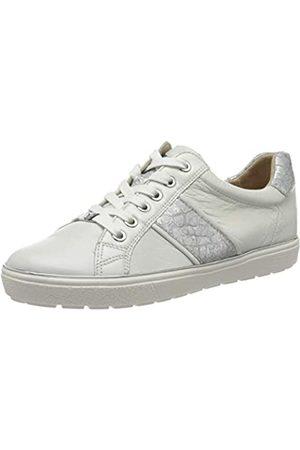 Caprice Damen Manou Sneaker, (White/Silver 191)