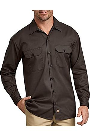 Dickies Herren Regular Fit Freizeit Hemd Long/S Work Shirt