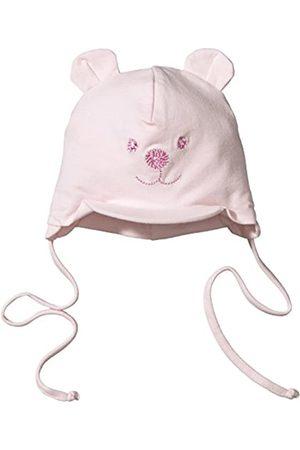 Sterntaler Schirmmütze für Mädchen mit Bindebändern, Nackenschutz und niedlichem Bärchen-Motiv, Alter: 5-6 Monate, Größe: 43