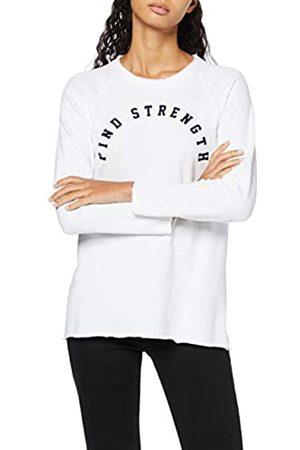 Activewear Damen Langarmshirt mit Slogan