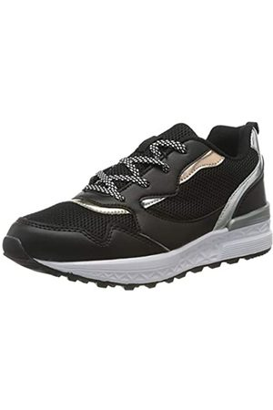 Richter Kinderschuhe Mädchen Future2 Sneaker, (Black/Silver/Bron/Go 9901)