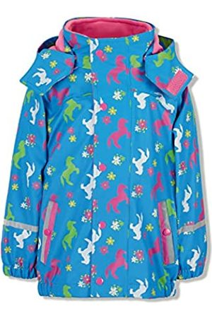 Sterntaler Mädchen Regenjacke mit Innenjacke, 3in1 Multifunktionsjacke, Alter: 3-4 Jahre, Größe: 104