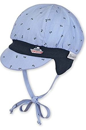 Sterntaler Ballonmütze für Jungen mit Bindebändern und Anker-Motiv, Alter: 9-12 Monate, Größe: 47