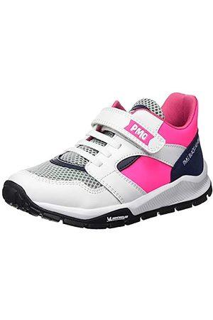 Primigi Mädchen Scarpa Bambina SUOLA Michelin Hohe Sneaker, Pink (Bianco/Fuxia FL 5440700)