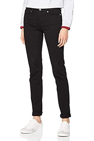 Moschino Love Damen Heart Print on Back Pocket_Skinny fit Trousers Hose