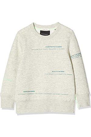 Scotch&Soda Jungen Club Nomade Basic Crew with Artworks Sweatshirt
