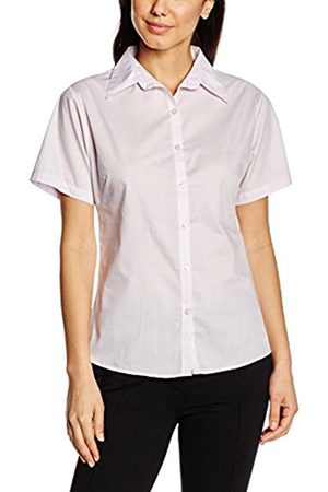 Premier Workwear Damen Bluse Ladies Short Sleeve Poplin