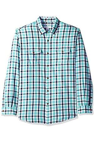 Amazon Herrenhemd, Regular-Fit, Langarm, mit zwei Taschen