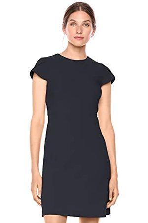 Lark & Ro Fluid Crepe Tuplip Sleeve dresses