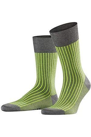 Falke Herren Socken Oxford Stripe - Baumwollmischung, 1 Paar, Versch. Farben