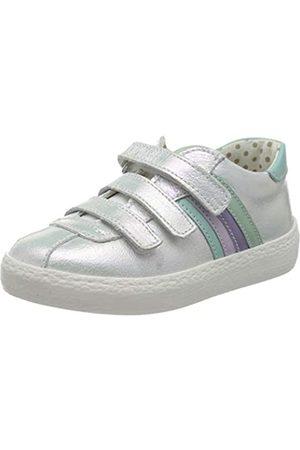 Primigi Mädchen Scarpa Bambina Sneaker, (Bianco/Acqua 5433533)