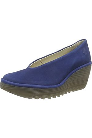 Fly London YAZ, Damen Geschlossene Sandalen, (BLUE 191)