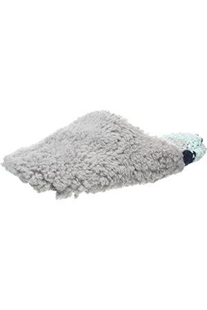 Dearfoams Damen Pile Scuff w/Sweater Knit Heel Pantoffeln, (Sleet 10022)