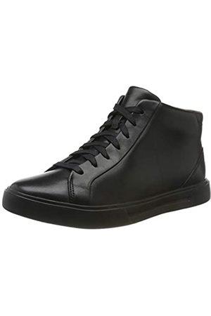 Clarks Men's Un Costa Mid Chukka Boots, (Black Wlined Lea)