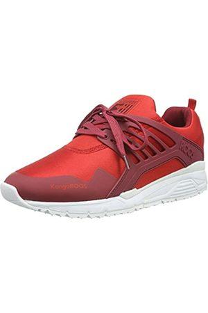 KangaROOS Herren Runaway ROOS 006 Sneakers, (Flame red/red 606)