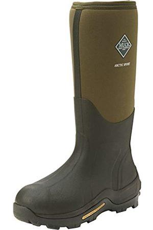 Muck Arctic Sport Tall, Unisex Erwachsene Arbeits-Gummistiefel, (Moss 333A)