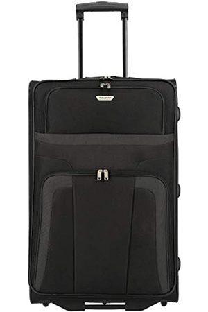 Elite Models' Fashion ORLANDO Koffer, Reisetrolley 2-Rad L (73 cm); Rollkoffer große Größe mit Außen- und Innentasche