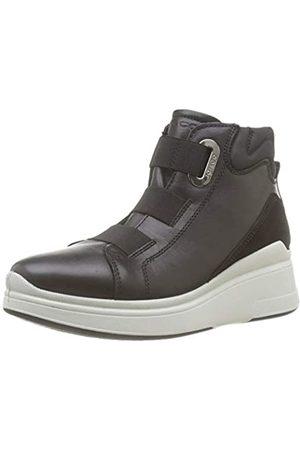 IGI&CO Damen Donna-41418 Hohe Sneaker, (Nero 4141800)