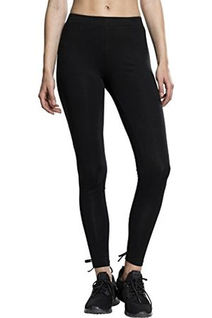 Urban classics Damen Ladies Laced Up Back Leggings
